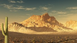 Desert Mountains Wallpaper 1080p