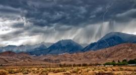 Desert Mountains Wallpaper For PC