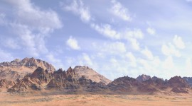 Desert Mountains Wallpaper Free