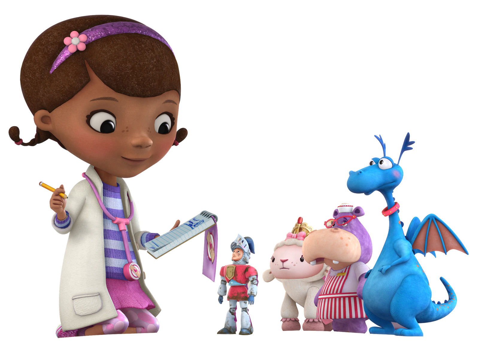 It is an image of Sizzling Doc Mcstuffins Background