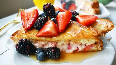 French Toast With Berries wallpapers high quality