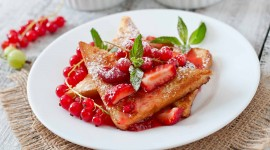 French Toast With Berries Wallpaper Gallery