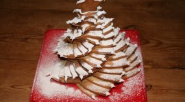 Gingerbread Trees Photo