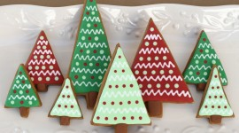 Gingerbread Trees Photo Download