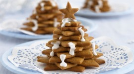 Gingerbread Trees Photo Free