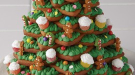Gingerbread Trees Wallpaper For Android#1