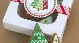 Gingerbread Trees Wallpaper For IPhone#1