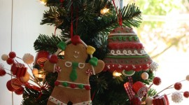 Gingerbread Trees Wallpaper For IPhone#2