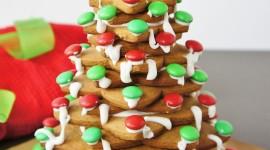 Gingerbread Trees Wallpaper For Mobile