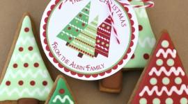 Gingerbread Trees Wallpaper For Mobile#1
