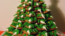Gingerbread Trees Wallpaper For Mobile#2