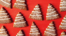 Gingerbread Trees Wallpaper For PC