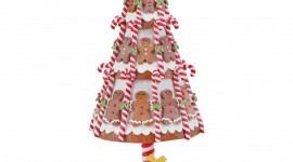 Gingerbread Trees Wallpaper Free