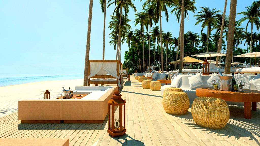 Iguana Beach Club Phuket wallpapers HD