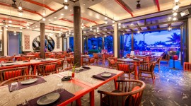 Iguana Beach Club Phuket Wallpaper Background