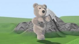 Little Charley Bear Desktop Wallpaper