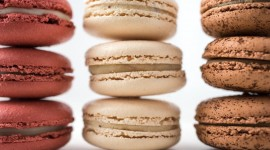 Macaron Desktop Wallpaper For PC