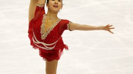 Mao Asada Wallpaper For IPhone Free