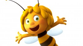 Maya The Bee Wallpaper Background