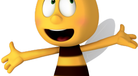 Maya The Bee Wallpaper For IPhone Free