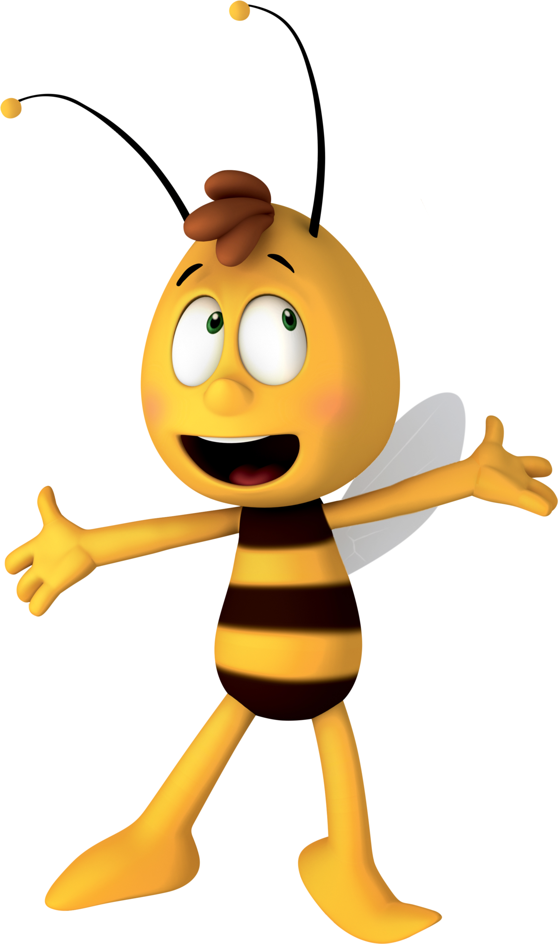 It is an image of Punchy Maya the Bee Image
