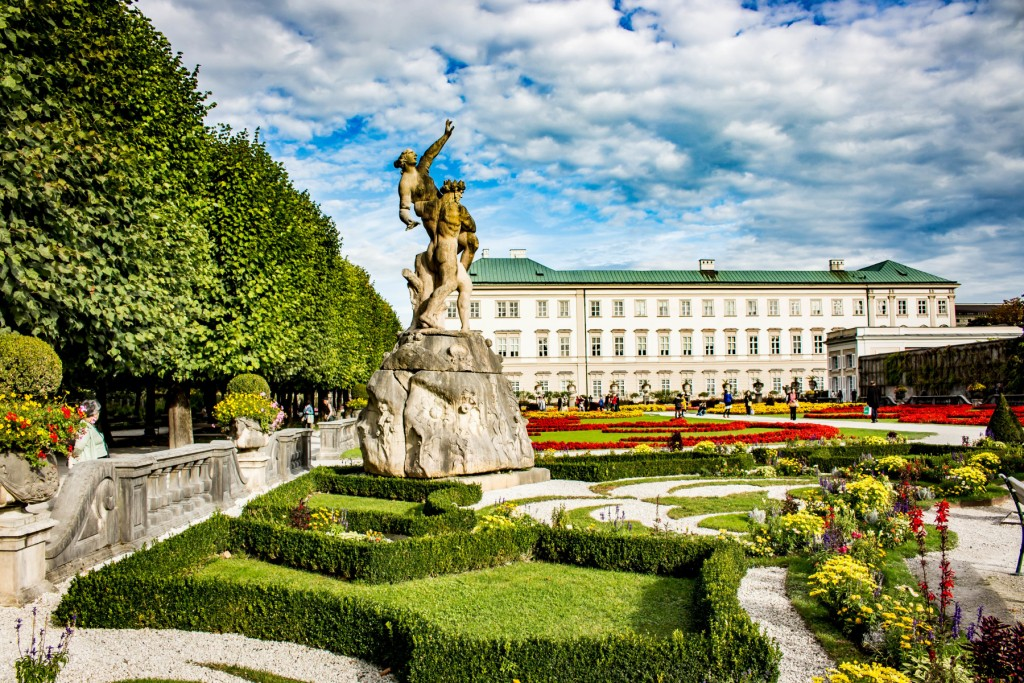 Mirabell Gardens wallpapers HD