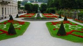 Mirabell Gardens Desktop Wallpaper