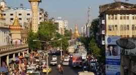 Myanmar Yangon Desktop Wallpaper HD