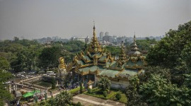 Myanmar Yangon High Quality Wallpaper