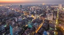 Myanmar Yangon Wallpaper Full HD