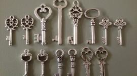 Old Keys High Quality Wallpaper
