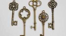 Old Keys Wallpaper Download Free