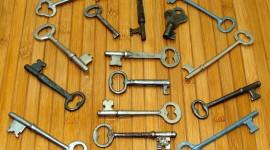 Old Keys Wallpaper Free