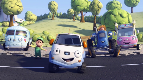 Olly The Little White Van wallpapers high quality