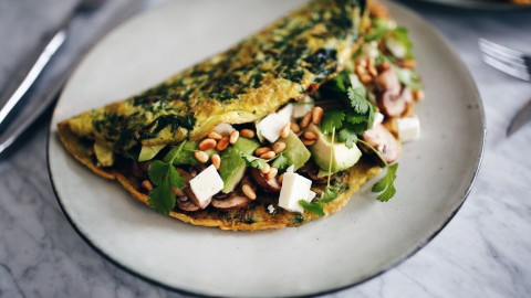 Omelet With Mushrooms wallpapers high quality