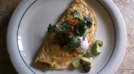Omelet With Sour Cream Desktop Wallpaper For PC