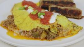 Omelet With Sour Cream Wallpaper For Desktop