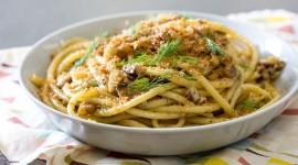 Pasta With Sardines Desktop Wallpaper