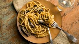Pasta With Sardines Desktop Wallpaper HD