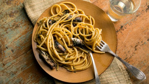 Pasta With Sardines wallpapers high quality