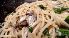 Pasta With Sardines Wallpaper Download
