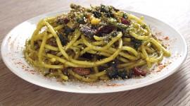 Pasta With Sardines Wallpaper HD