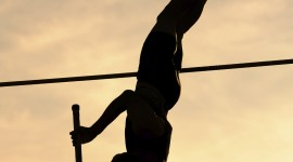 Pole Vault Wallpaper For IPhone