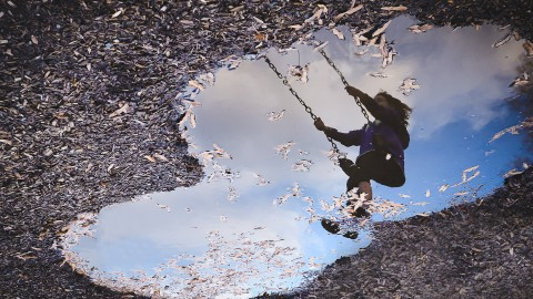 Reflection In A Puddle wallpapers high quality