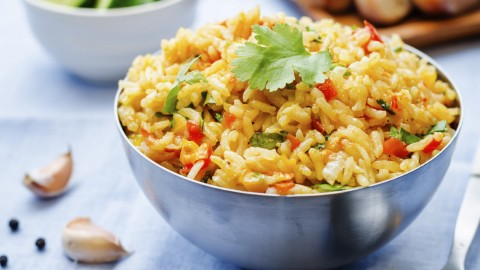 Rice With Vegetables wallpapers high quality