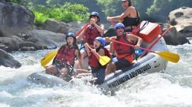River Rafting Desktop Wallpaper