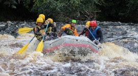River Rafting Desktop Wallpaper For PC