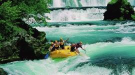 River Rafting High Quality Wallpaper