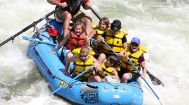 River Rafting Wallpaper