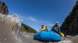 River Rafting Wallpaper Download Free